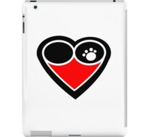 Eternal love my dog logo iPad Case/Skin