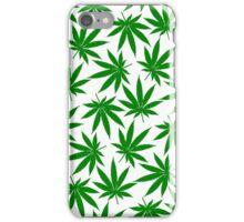 Colorado (CO) Weed Leaf Pattern iPhone Case/Skin