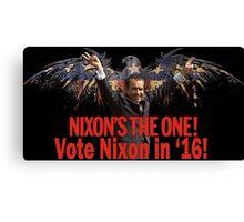 Richard Nixon 2016 Canvas Print