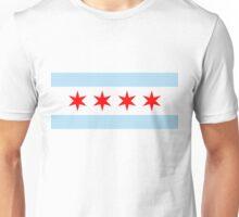chicago flag Unisex T-Shirt
