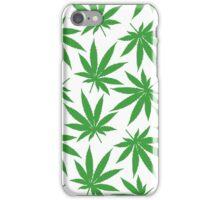 Ohio (OH) Weed Leaf Pattern iPhone Case/Skin