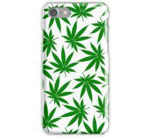Oregon (OR) Weed Leaf Pattern iPhone Case/Skin