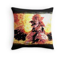 Natsu Dragneel Throw Pillow