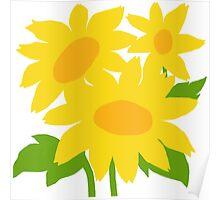 Yellow Green Good Cheer Poster