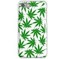 Washington (WA) Weed Leaf Pattern iPhone Case/Skin