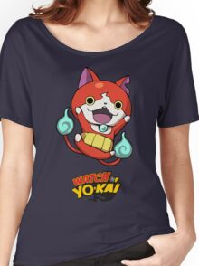 Yokai Watch :Jibanyan Women's Relaxed Fit T-Shirt