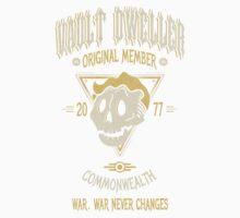 Vault Dweller - Original Member (No Border) Kids Tee