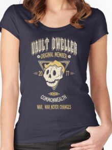 Vault Dweller - Original Member (No Border) Women's Fitted Scoop T-Shirt