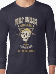 Vault Dweller - Original Member (No Border) Long Sleeve T-Shirt
