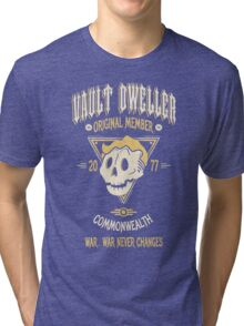 Vault Dweller - Original Member (No Border) Tri-blend T-Shirt