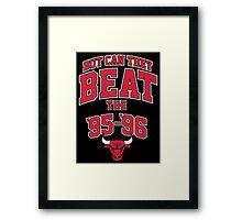 95-96 Bulls  Framed Print