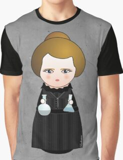 Kokeshi Madame Curie Graphic T-Shirt