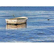 Afloat – Dinghy At Rest Photographic Print