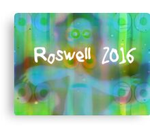 Roswell 2016 Canvas Print