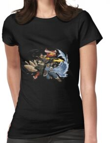 Avatar : Team Avatar Korra Womens Fitted T-Shirt