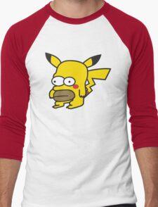Pikahomer Men's Baseball ¾ T-Shirt