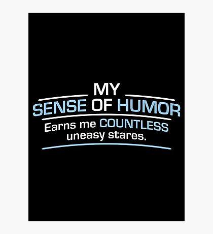 humor stares Photographic Print