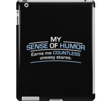 humor stares iPad Case/Skin
