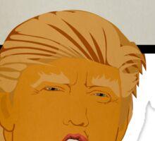 Donald Trump DIY Protest Poster Sticker