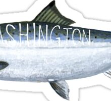 Washington Salmon Sticker