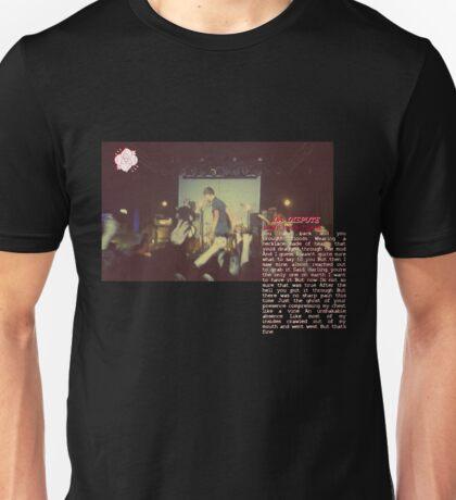 LA DISPUTE BURY YOUR FLAME Unisex T-Shirt