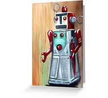 Roboman Greeting Card