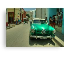 Green Studebaker  Canvas Print