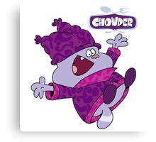 Chowder Canvas Print