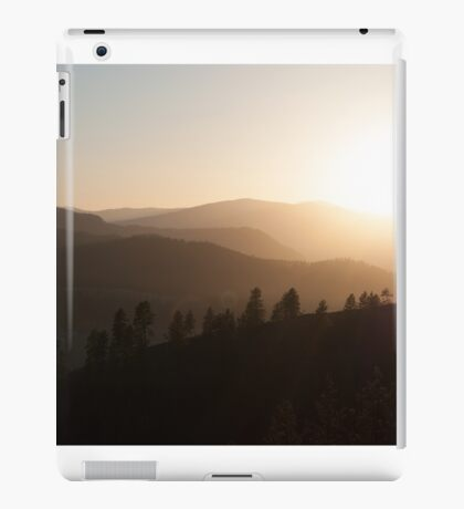 Mountain Sundown iPad Case/Skin