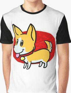 Cute Corgi Graphic T-Shirt