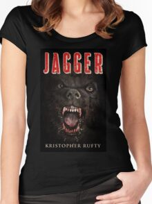 JAGGER Women's Fitted Scoop T-Shirt