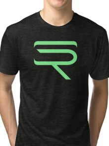SinfullyRiddling Logo (Green) Tri-blend T-Shirt