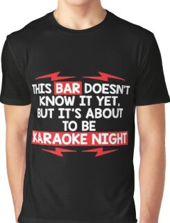 bar night Graphic T-Shirt