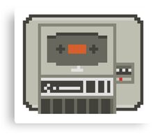 Commodore 64 Datasette Tape Recorder Canvas Print