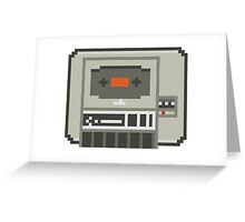 Commodore 64 Datasette Tape Recorder Greeting Card