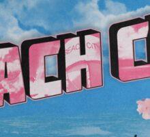 Beach City Postcard Sticker