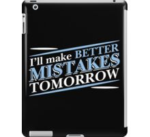 better mistake iPad Case/Skin