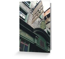 Flourish and Blotts - Harry Potter World Universal Orlando Diagon Alley Greeting Card