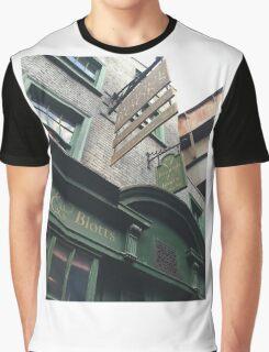Flourish and Blotts - Harry Potter World Universal Orlando Diagon Alley Graphic T-Shirt