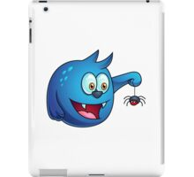 Cartoon play with Spider iPad Case/Skin