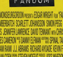 Fandom - The Movie Sticker