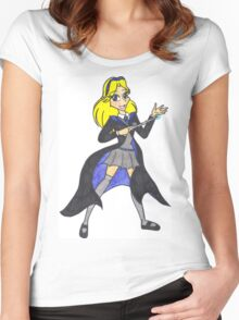 Ravenclaw Maria Robotnik Women's Fitted Scoop T-Shirt