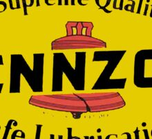 PENNZOIL OIL VINTAGE SAFE LUBRICANT Sticker