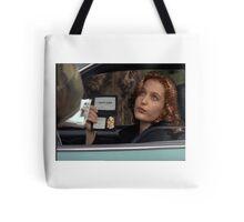 Dana Scully I Don't Care Sparkle Tote Bag