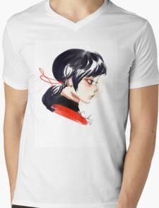 Little Lady Bug Mens V-Neck T-Shirt