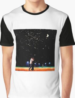Mulder and scully baseball under the stars Graphic T-Shirt