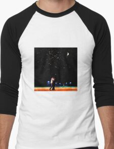Mulder and scully baseball under the stars Men's Baseball ¾ T-Shirt