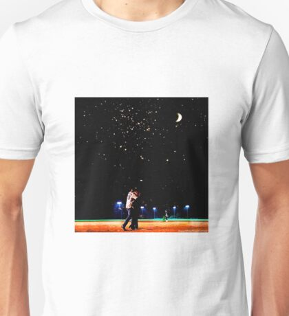 Mulder and scully baseball under the stars Unisex T-Shirt