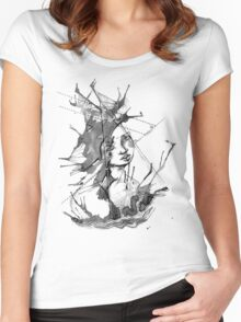 Ink Creature Women's Fitted Scoop T-Shirt
