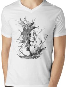 Ink Creature Mens V-Neck T-Shirt